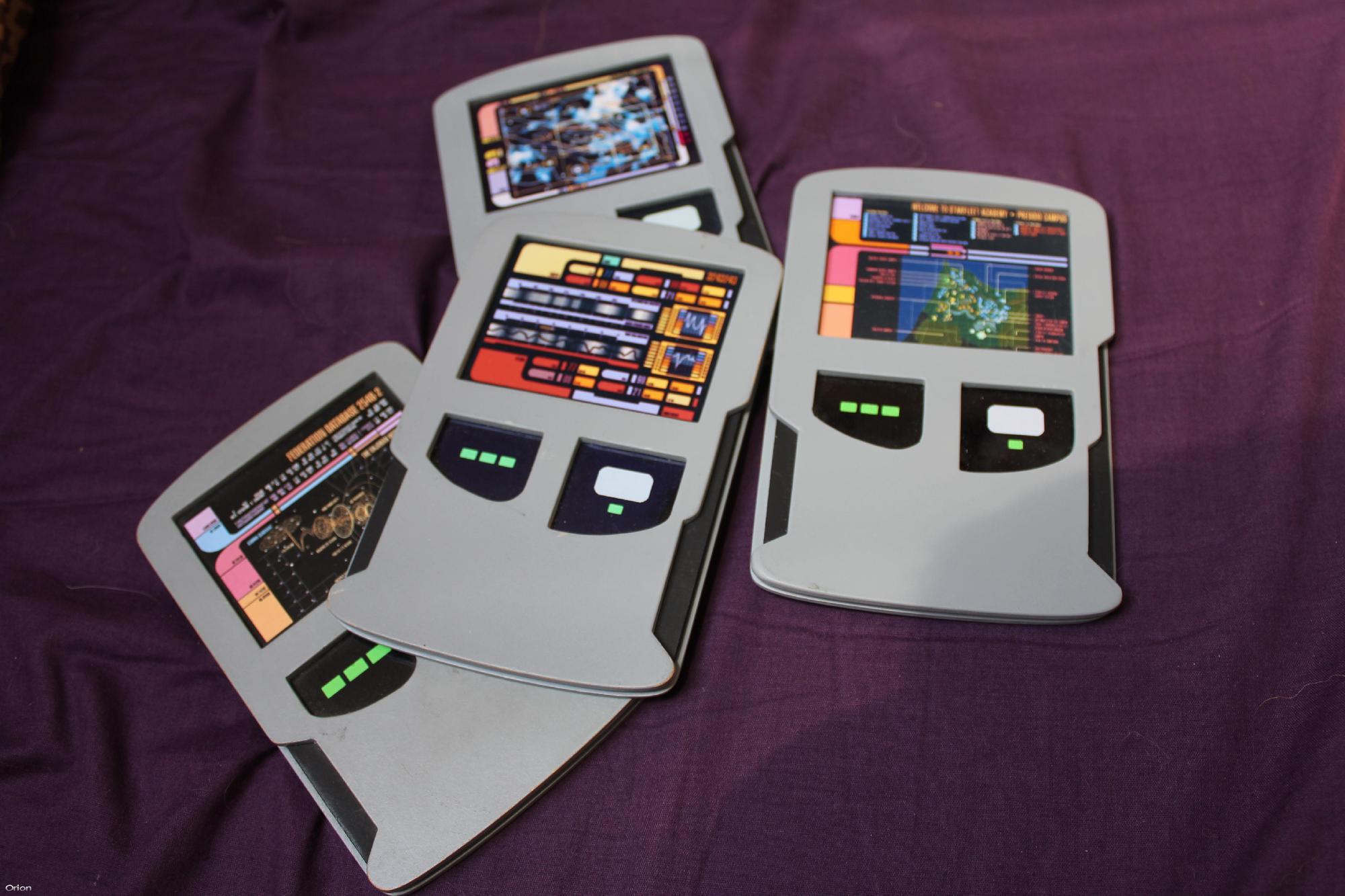 starfleet academy tablets